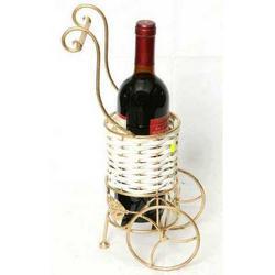 Carrellino porta bottiglia cm 36x11x14