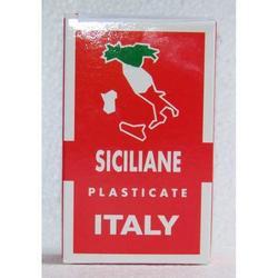 Carte da gioco Siciliane plastificate