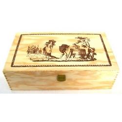 Cassetta in legno 35x20x10 cm