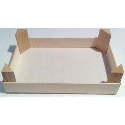 Cassetta in legno per frutta martorana cm 28.6x19x7.8 mis. 4