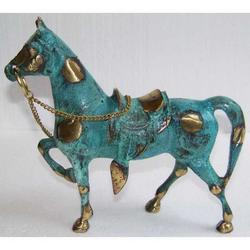 Cavallo in bronzo cm 19x17.5