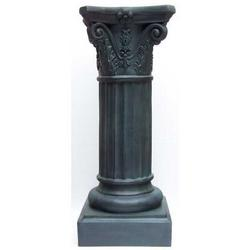 Colonna nera in vetroresina cm 83