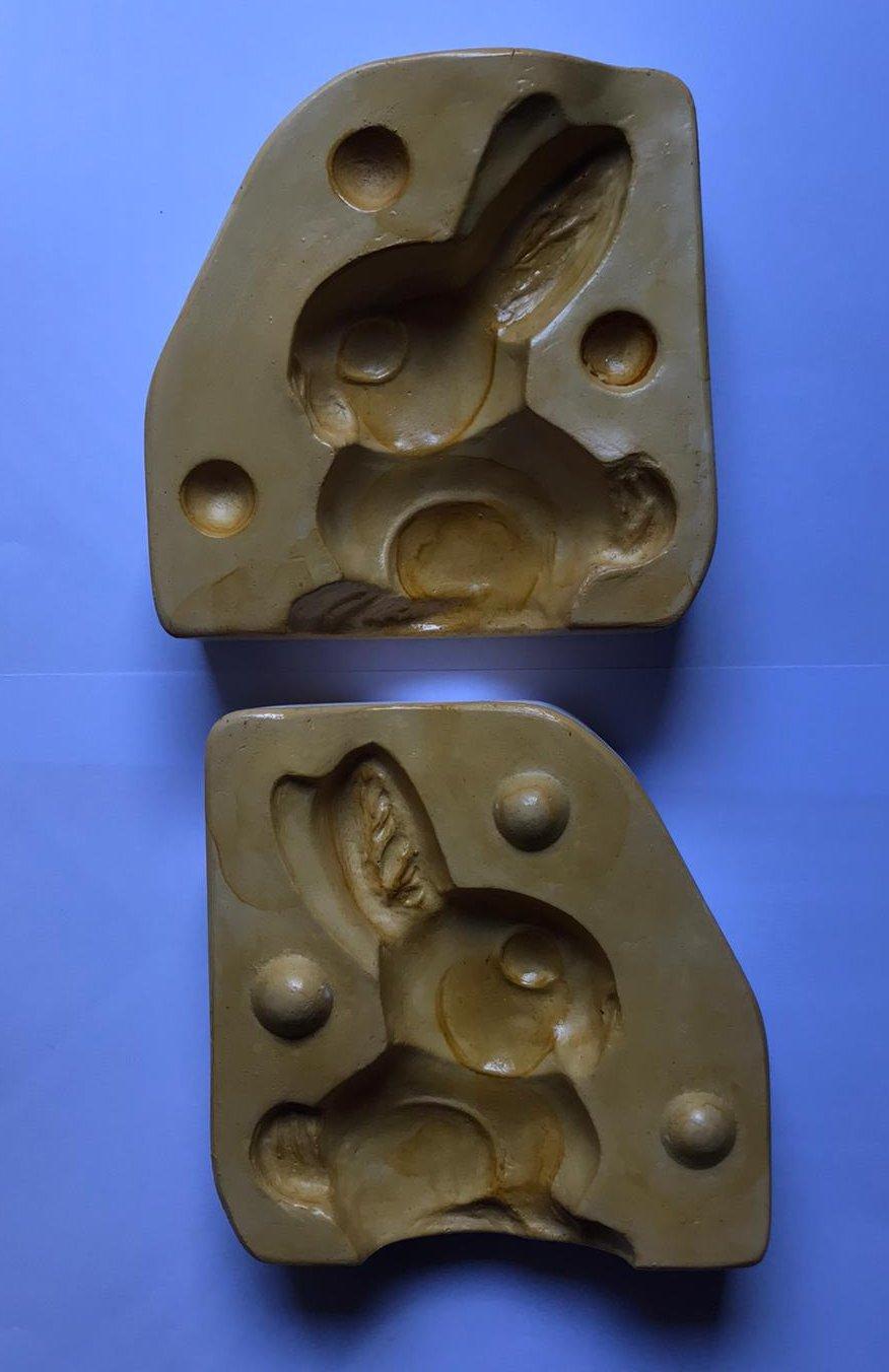 Stampo per Coniglio grande da 200 grammi di martorana