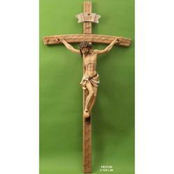 Crocifisso in legno da cm 125x66 con Corpo di Cristo in resina