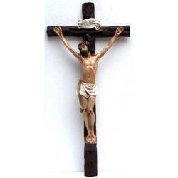Croce in resina cm 63x30 e Cristo resina cm 42x25