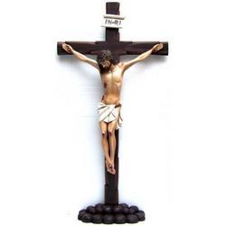 Cristo Crocifisso da appoggio in resina cm 99x55