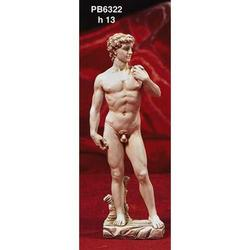Souvenir David di Michelangelo cm 13 in resina