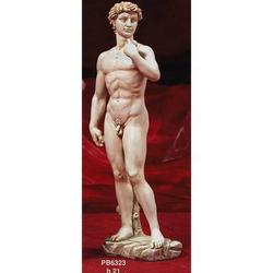 Souvenir David di Michelangelo cm 21 in resina