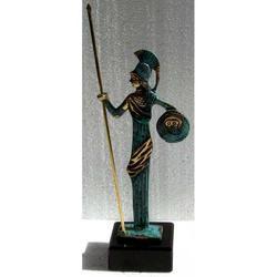 Dea greca in bronzo cm 21x5x5