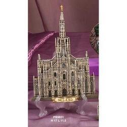 Duomo di Milano cm 11.5x17 in resina
