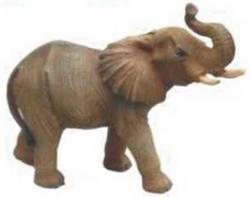 Statua Elefante vetroresina cm 26x30