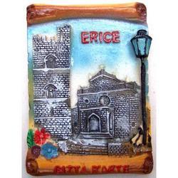 Erice souvenir magnete da frigo cm7x5.2