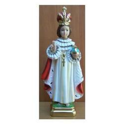 Statua Gesu Bambino di Praga cm 31 in gesso