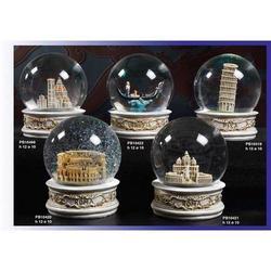 Globo in vetro con Duomo di Firenze in resina cm 10