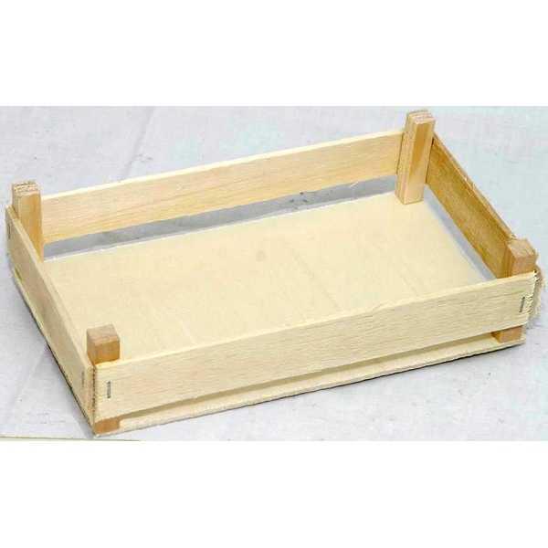 cassetta in legno per frutta martorana cm 10x16 mis. 1 vendita