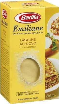 Lasagne Barilla da 500 grammi