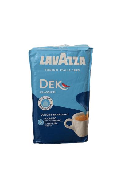 Caffe' Lavazza Dek Classico da 250 gr