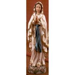 Madonna di Lourdes cm 20 resina