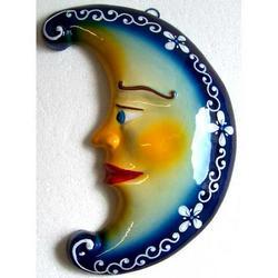 Souvenir Luna in ceramica cm 23x12