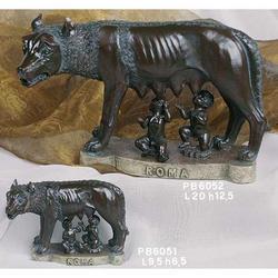 Souvenir Lupa Capitolina cm 9.5x6.5 in resina