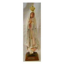 Statua Madonna di Fatima cm 35 in resina