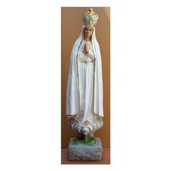 Madonna di Fatima cm 70 in gesso