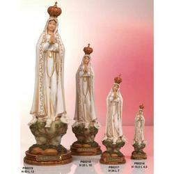 Statua Madonna di Fatima cm 15.5 in resina