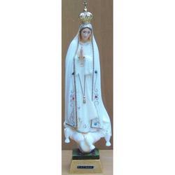 Madonna di Fatima da cm 21 in resina