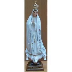 Statua Madonna di Fatima cm 27 in resina