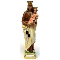 Madonna del Carmelo cm 41 in gesso