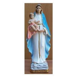 Madonna del Castello in gesso cm 27