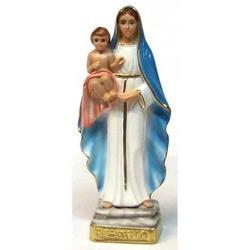 Madonna del Castello cm 24 in gesso