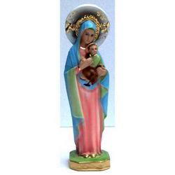 Madonna del Perpetuo Soccorso cm 21 in gesso