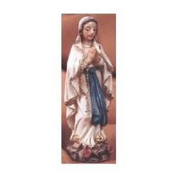 Madonna Lourdes in resina cm 6