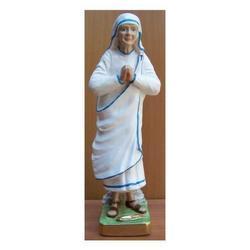 Madre Teresa di Calcutta in gesso cm 33