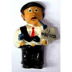 Mafioso in resina cm 5.2 con magnete