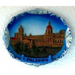 Cattedrale di Palermo in resina con calamite cm 8x6.5