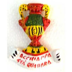 Magnete Asso di coppe in ceramica cm 6.5x5.5