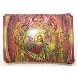 Magnete Cristo Pantocratore in resina cm 7x5