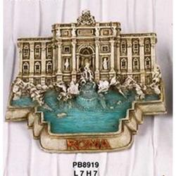 Magnete Fontana di Trevi cm 7 in resina
