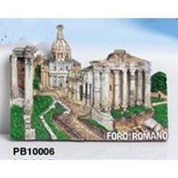 Magnete Foro Romano cm 7x5 in resina