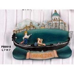 Magnete Gondola veneziana cm 7 in resina
