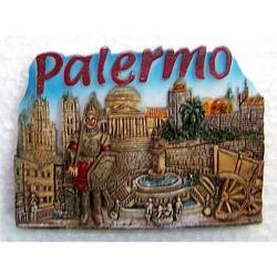 Magnete Palermo cm 7x5 in resina