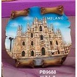 Magnete Duomo di Milano cm 8x7 in resina