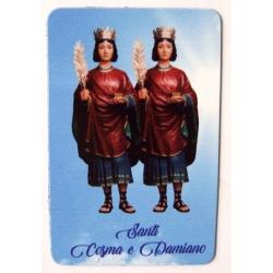 Calamita Santi Cosma e Damiano cm 8,5x5,5