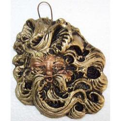 Maschera Greca in Lava cm 10x8 modello BA013
