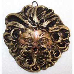 Maschera Greca in Lava cm 6.5x6.5 modello BA011