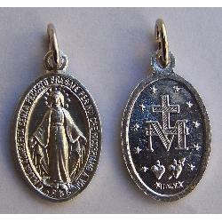 Medaglia Miracolosa cm 2x1.3 in metallo