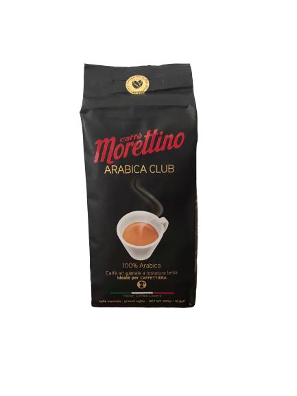 Caffe' Morettino Arabica Club 100% Arabica da 250 gr