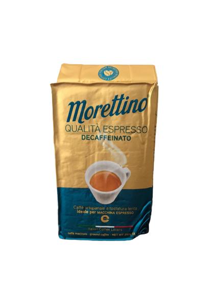 Caffe' Morettino Qualta' Espresso Decaffeinato da 250 gr